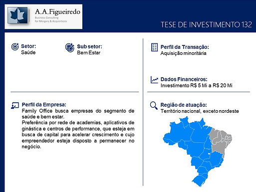 Saúde - Tese de Investimento 132