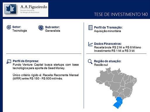 Tecnologia - Tese de Investimento 140