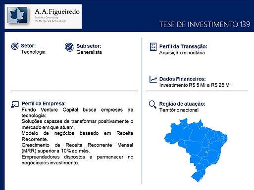 Tecnologia - Tese de Investimento 139