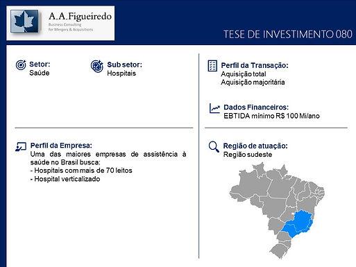 Saúde - Tese de Investimento 080