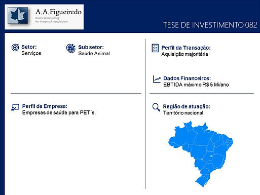Serviços - Tese de Investimento 082