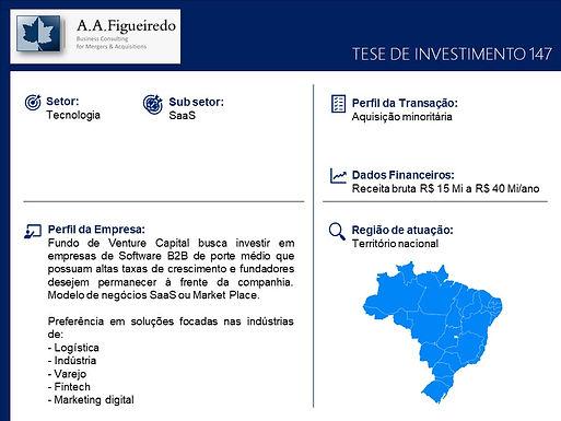 Tecnologia - Tese de Investimento 147