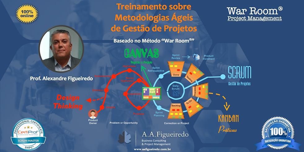 Treinamento sobre Metodologias Ágeis de Gestão de Projetos