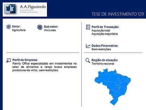 Agricultura - Tese de Investimento 129