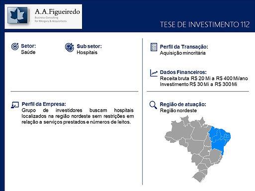 Saúde - Tese de Investimento 112