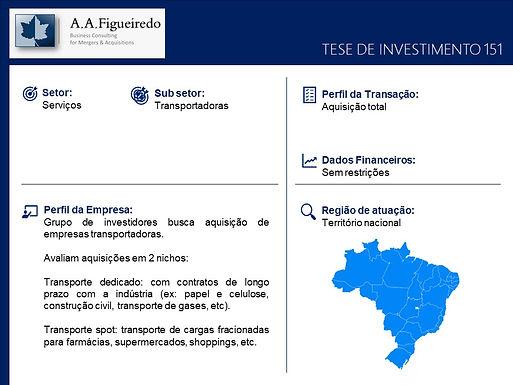 Serviços - Tese de Investimento 151