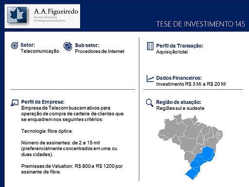Telecomunicações - Tese de Investimento 145
