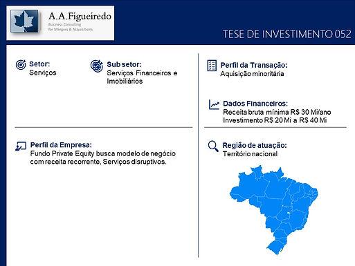 Serviços - Tese de Investimento 052