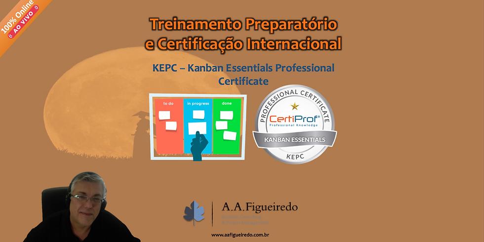Treinamento Preparatório e Certificação KEPC - Kanban Essentials Professional Certificate