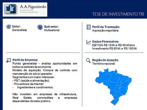 Generalista - Tese de Investimento 118
