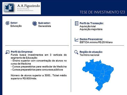 Educação - Tese de Investimento 123