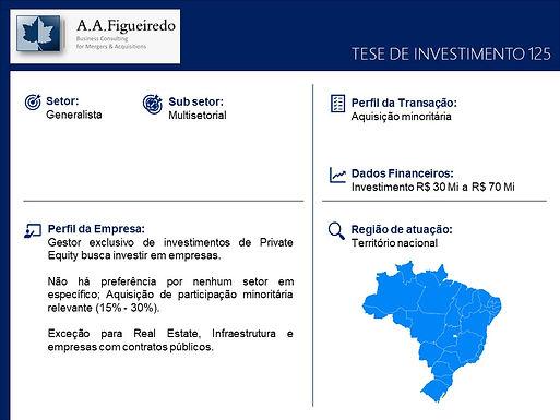 Generalista - Tese de Investimento 125