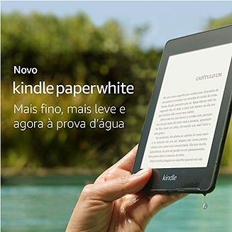 Novo Kindle Paperwhite – 8GB – Agora à p