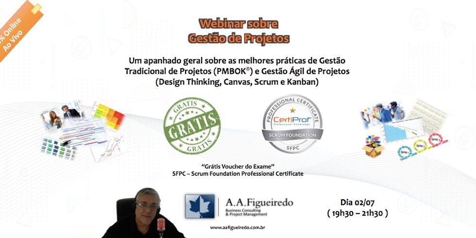 Webinar sobre Gestão de Projetos | A.A.Figueiredo