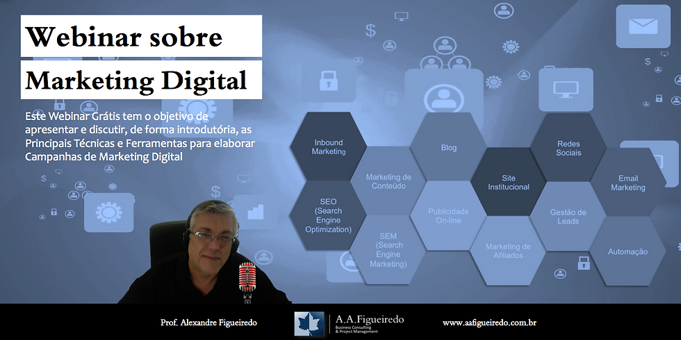 Webinar sobre Marketing Digital