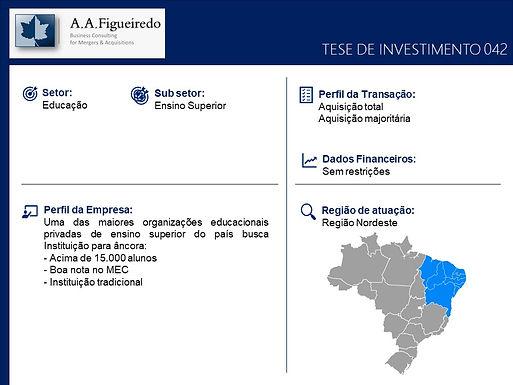 Educação - Tese de Investimento 042
