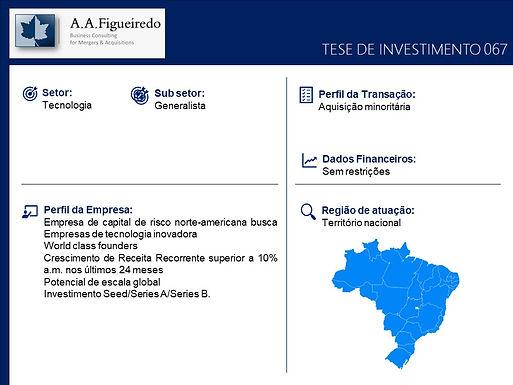 Tecnologia - Tese de Investimento 067