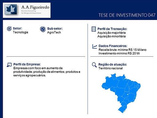 Tecnologia - Tese de Investimento 047
