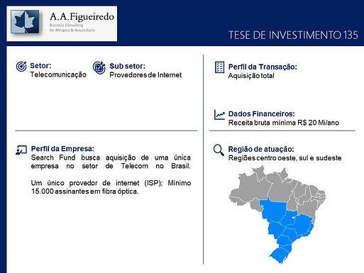 Telecomunicações - Tese de Investimento 135