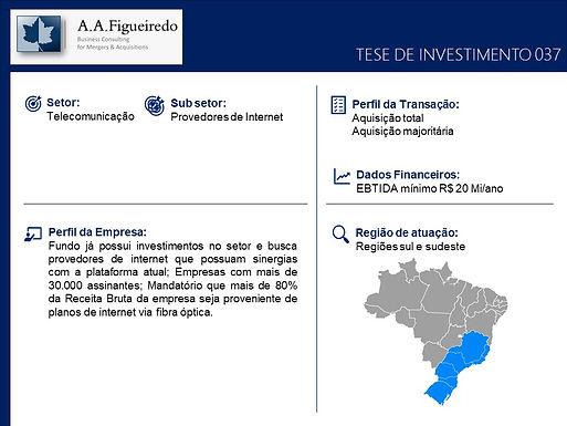 Telecomunicações - Tese de Investimento 037