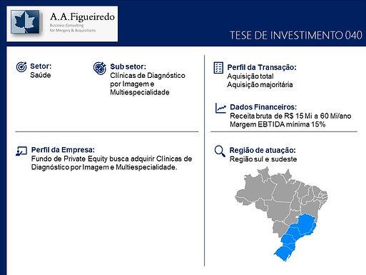 Saúde - Tese de Investimento 040