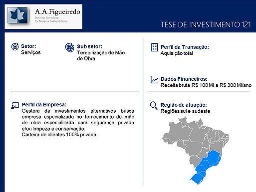 Serviços - Tese de Investimento 121