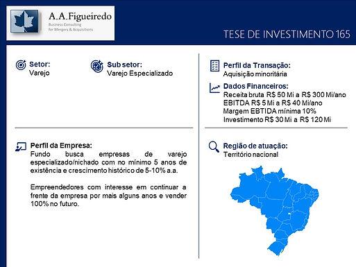 Varejo - Tese de Investimento 165