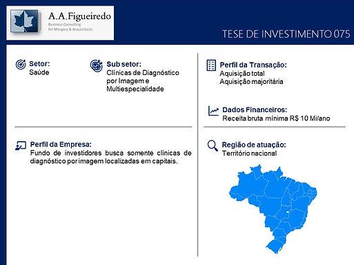 Saúde - Tese de Investimento 075