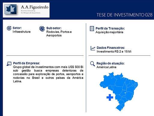 Infraestrutura - Tese de Investimento 028