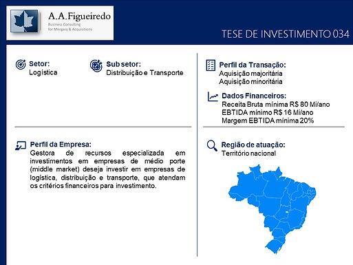 Logística - Tese de Investimento 034