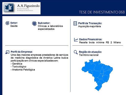 Saúde - Tese de Investimento 068