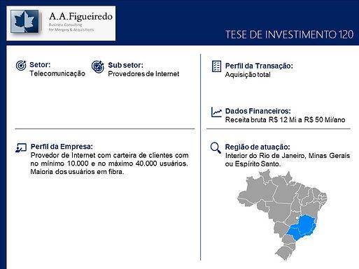 Telecomunicações - Tese de Investimento 120