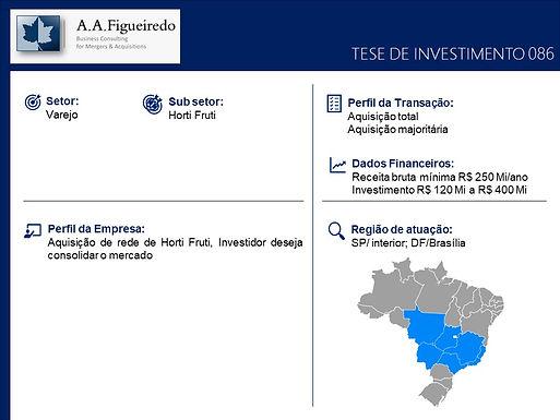 Varejo - Tese de Investimento 086