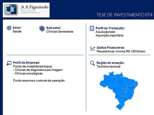Saúde - Tese de Investimento 074
