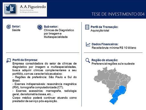 Saúde - Tese de Investimento 004
