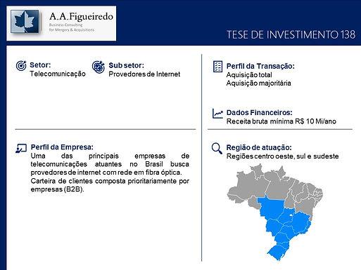 Telecomunicações - Tese de Investimento 138