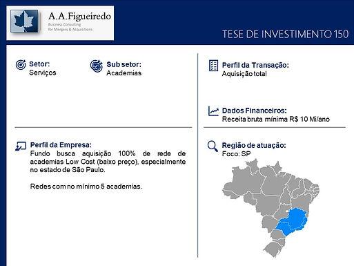 Serviços - Tese de Investimento 150