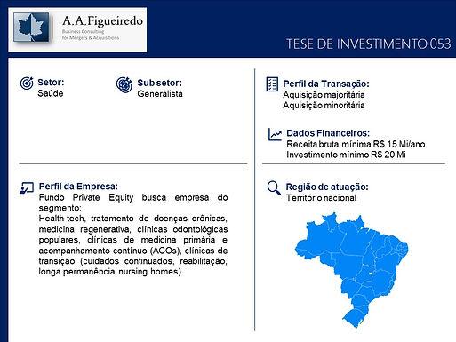 Saúde - Tese de Investimento 053