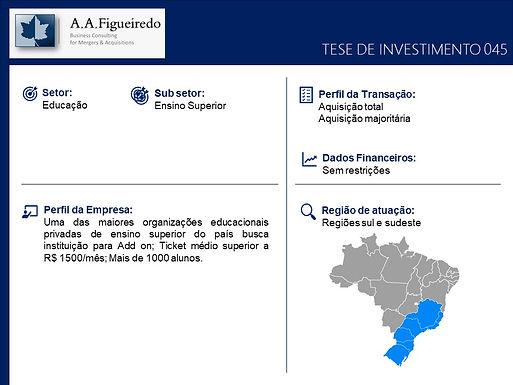 Educação - Tese de Investimento 045