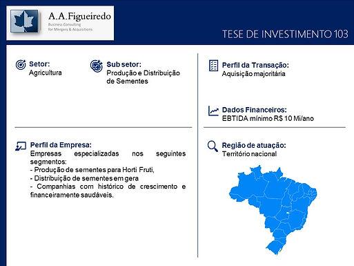 Agricultura - Tese de Investimento 103