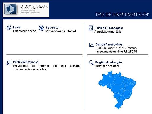 Telecomunicações - Tese de Investimento 041