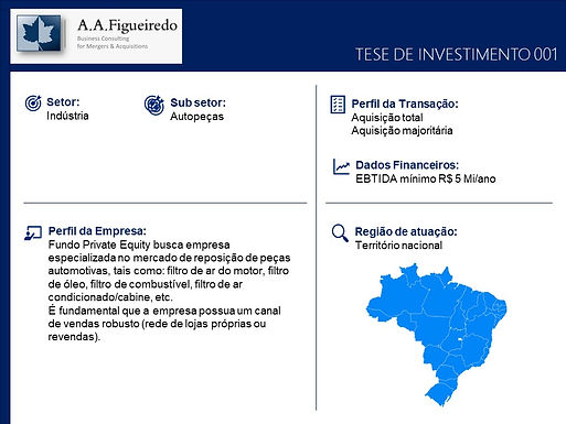 Indústria - Tese de Investimento 001