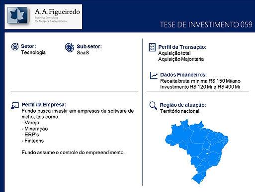 Tecnologia - Tese de Investimento 059