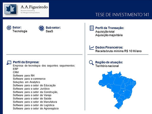 Tecnologia - Tese de Investimento 141