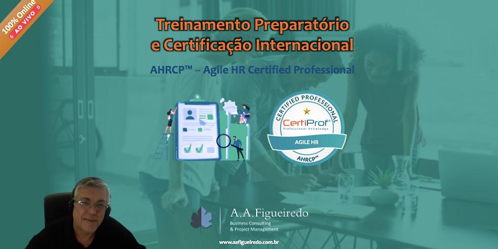 Treinamento Preparatório e Certificação AHRCP™ - Agile HR Certified Professional