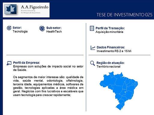 Tecnologia - Tese de Investimento 025