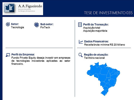 Tecnologia - Tese de Investimento 035