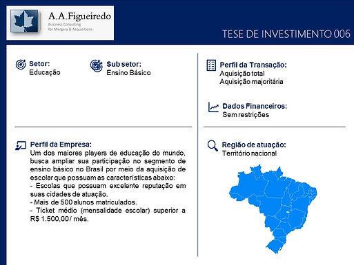 Educação - Tese de Investimento 006