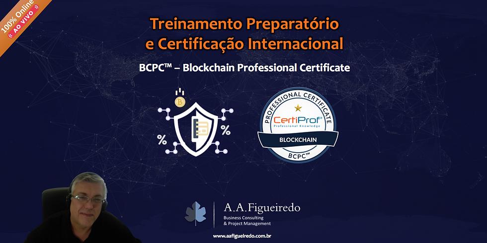 Treinamento Preparatório e Certificação BCPC™ - Blockchain Professional Certicate