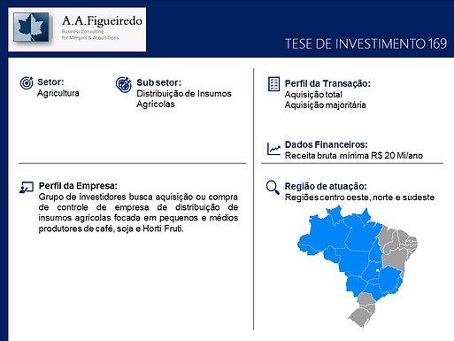 Agricultura - Tese de Investimento 169